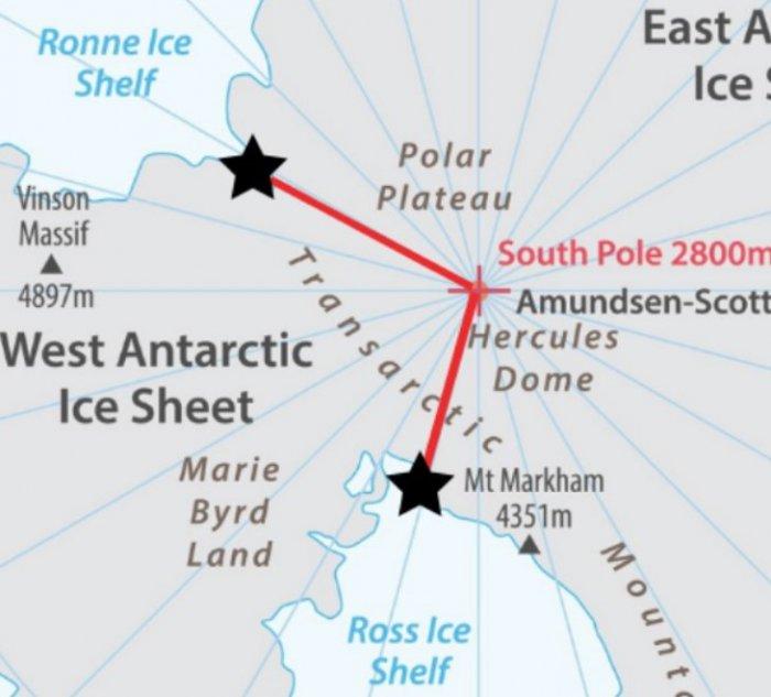 Американец прошел Антарктиду с невероятным рывком в финале пути 2