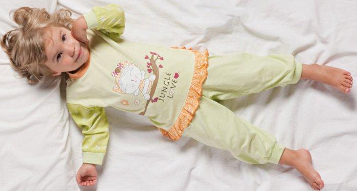 Выбираем детскую пижаму для малыша и малышки