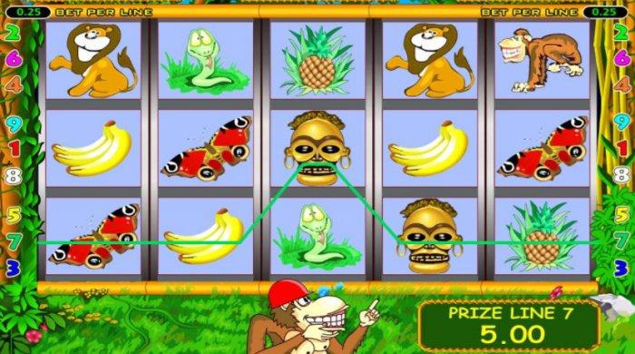 Игра онлайн Crazy Monkey
