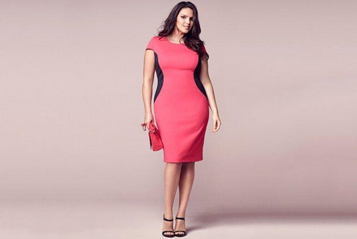 Красные платья больших размеров